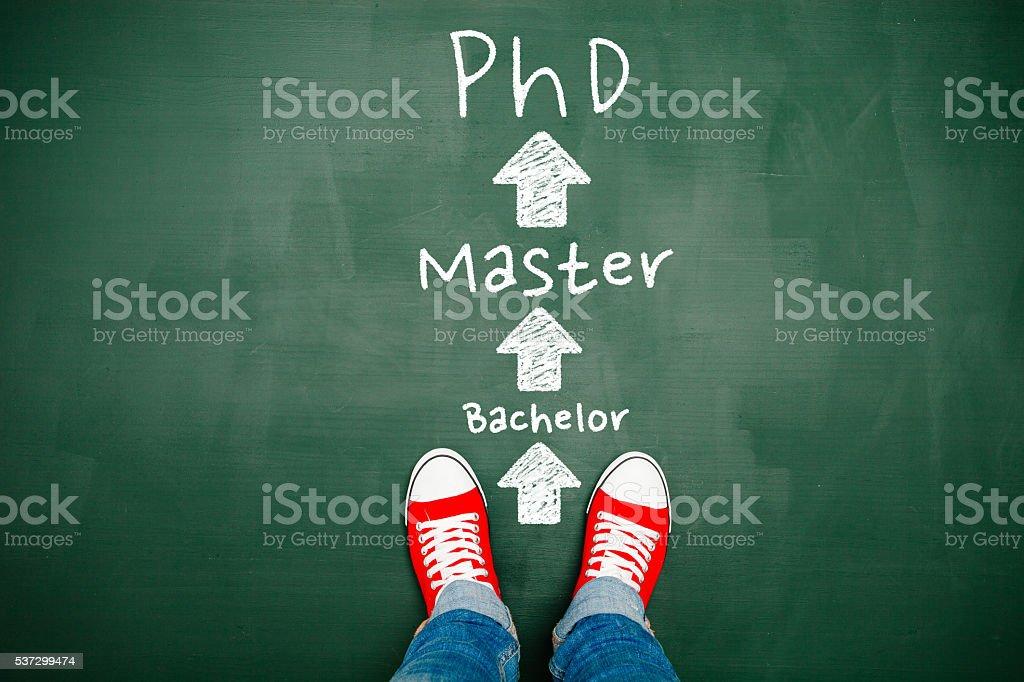 Choosing your education stock photo