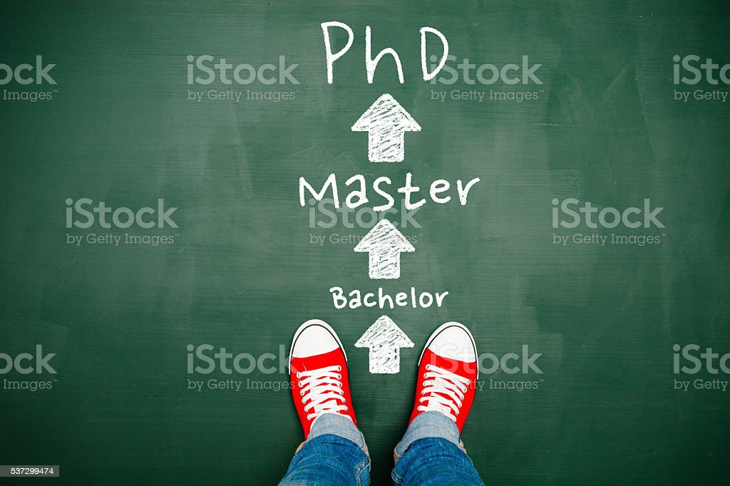 Choosing your education stock photo