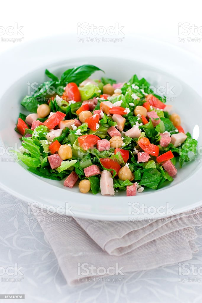 Chop Salad stock photo