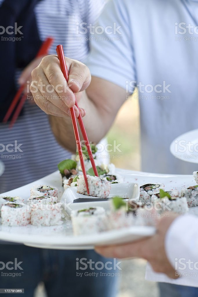 chop sticks royalty-free stock photo