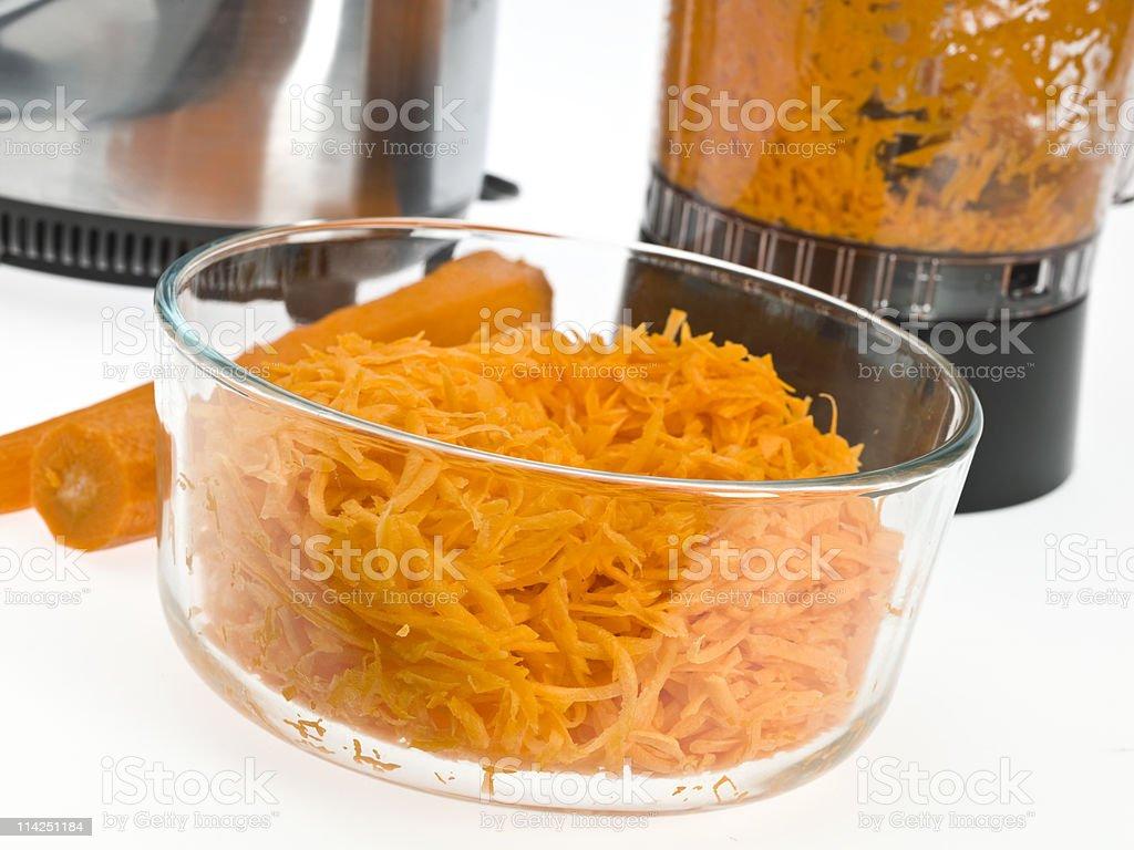 Chopped carrots royalty-free stock photo