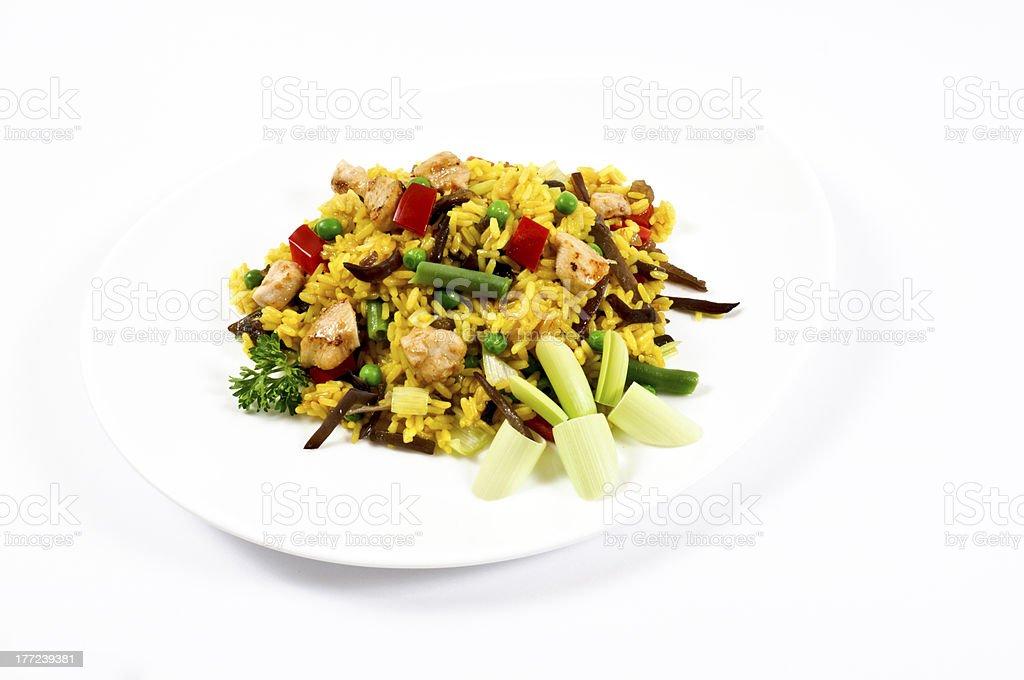 Chopped food royalty-free stock photo