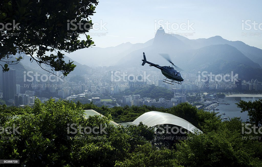 Chopper in Rio Brazil royalty-free stock photo