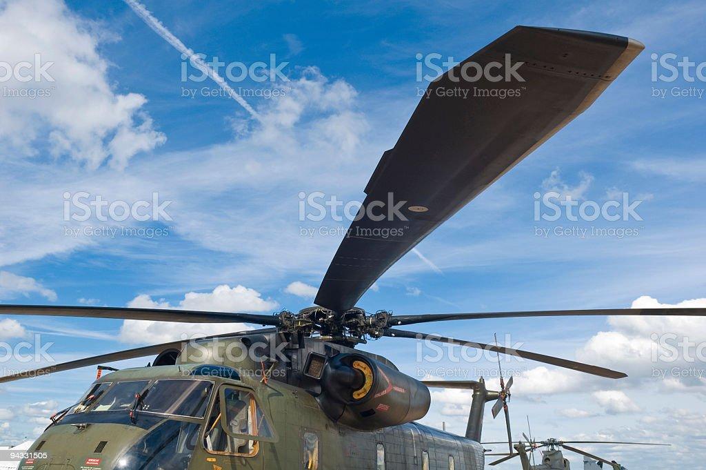 Chopper park stock photo