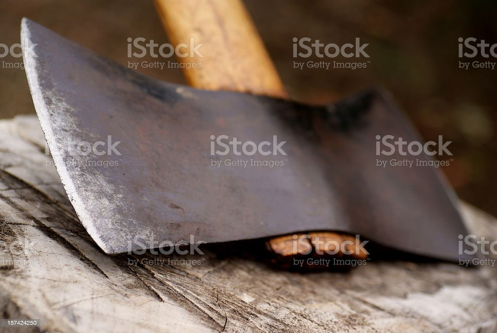 Chopping Block Background royalty-free stock photo