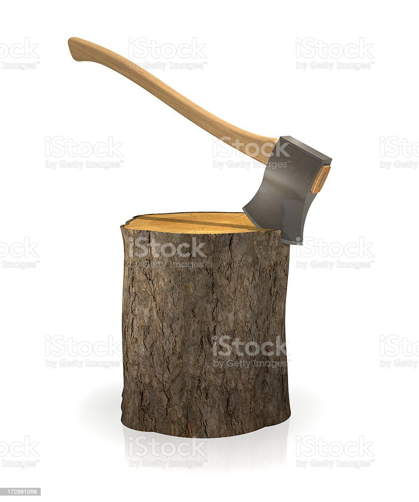 Chopping Block royalty-free stock photo