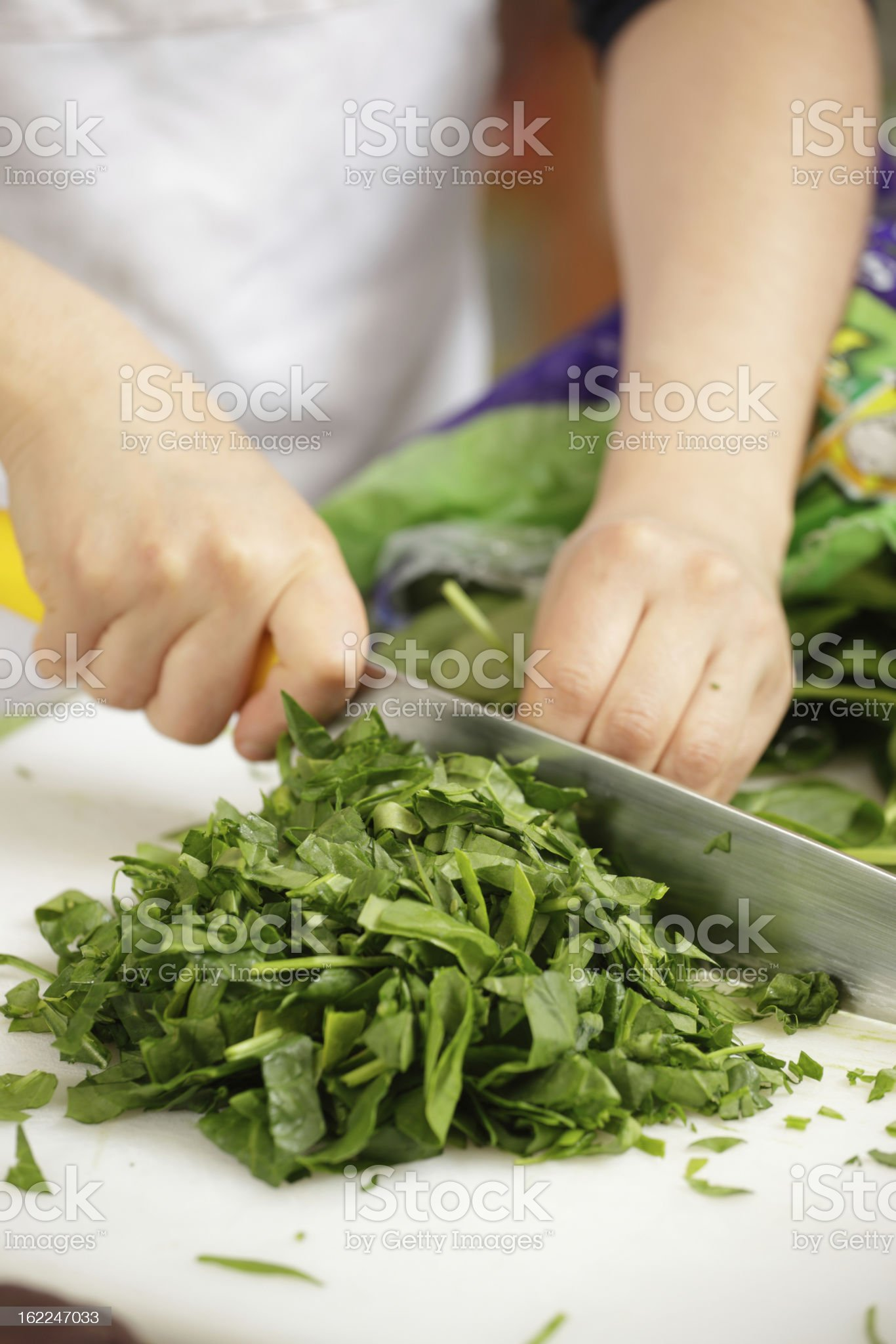 Chopping royalty-free stock photo