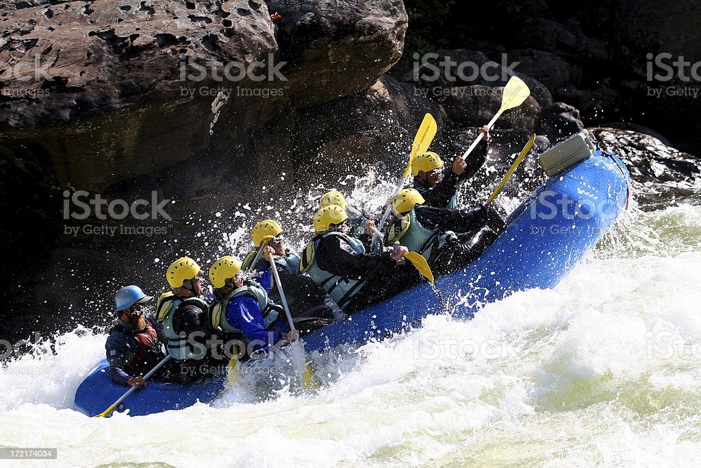 Choppy Ride royalty-free stock photo