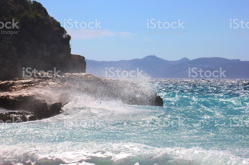 Choppy море Стоковые фото Стоковая фотография