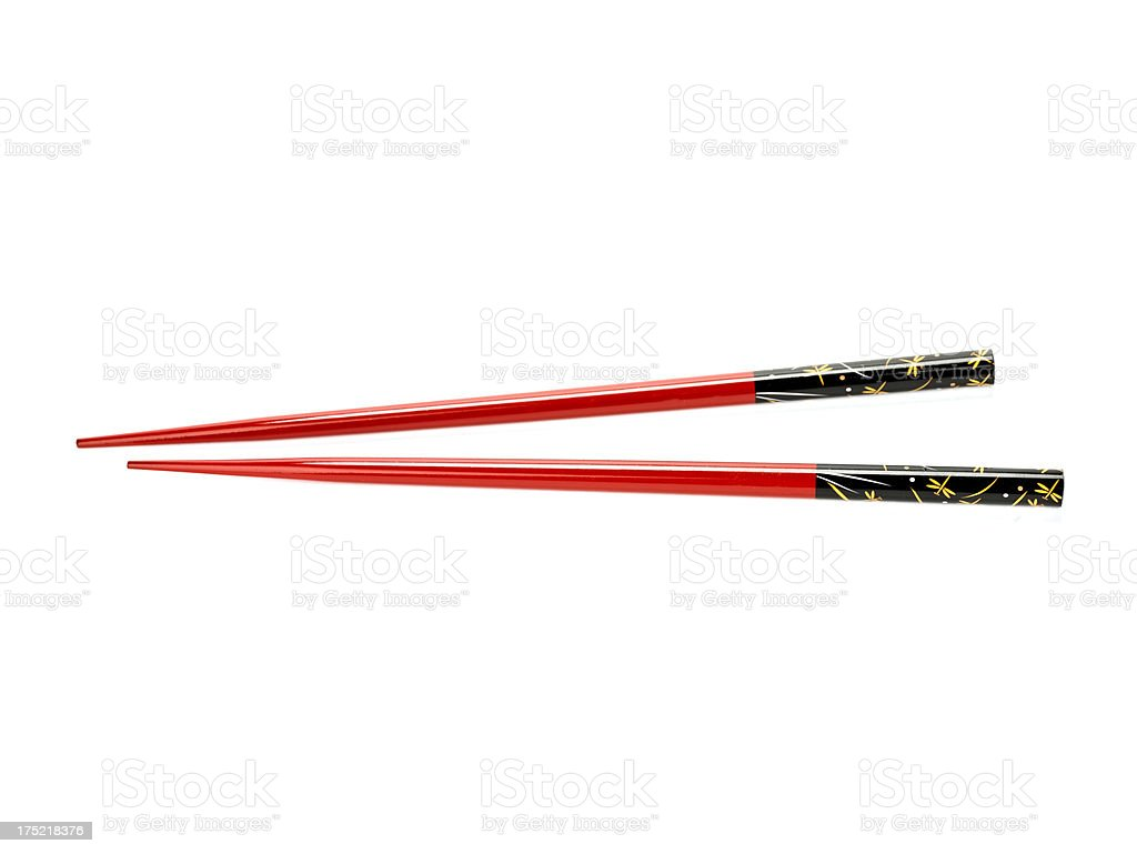 Chopstick stock photo