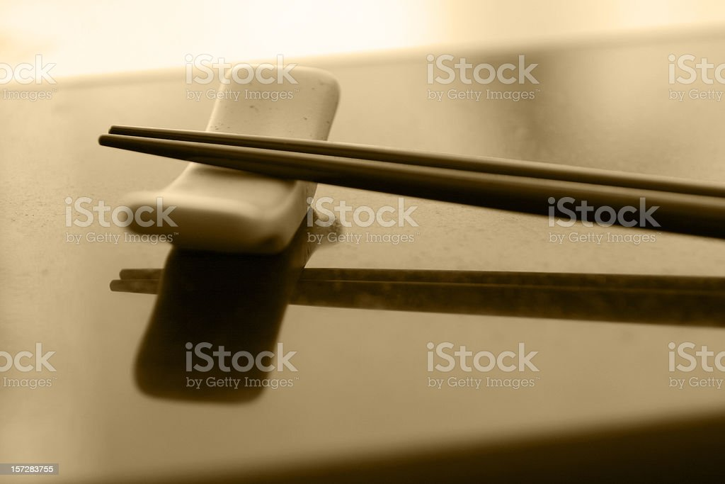 Chopsticks royalty-free stock photo