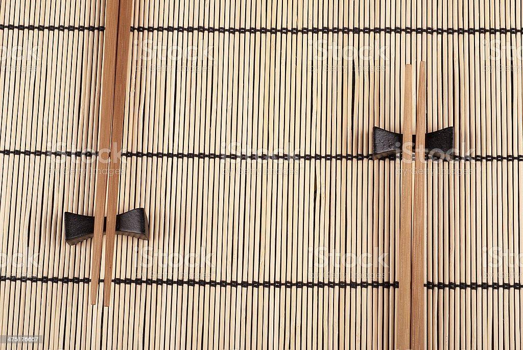 Palillos chinos foto de stock libre de derechos