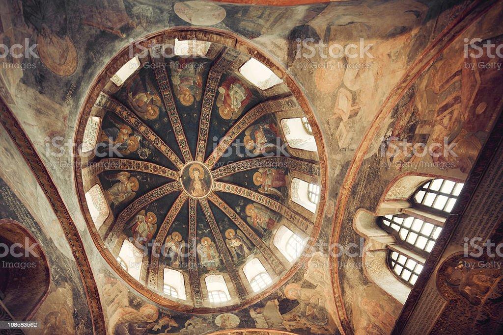 Chora Church, Istanbul, Turkey royalty-free stock photo
