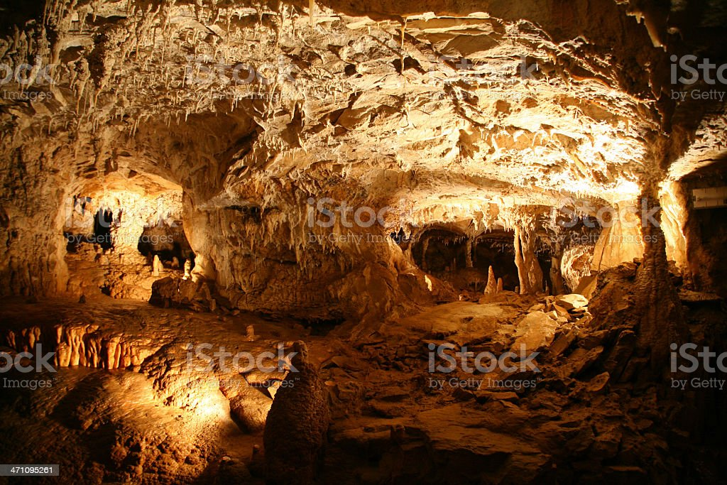 Choranche Caves royalty-free stock photo