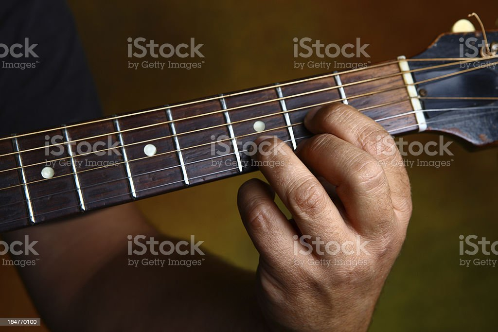Chord series D royalty-free stock photo
