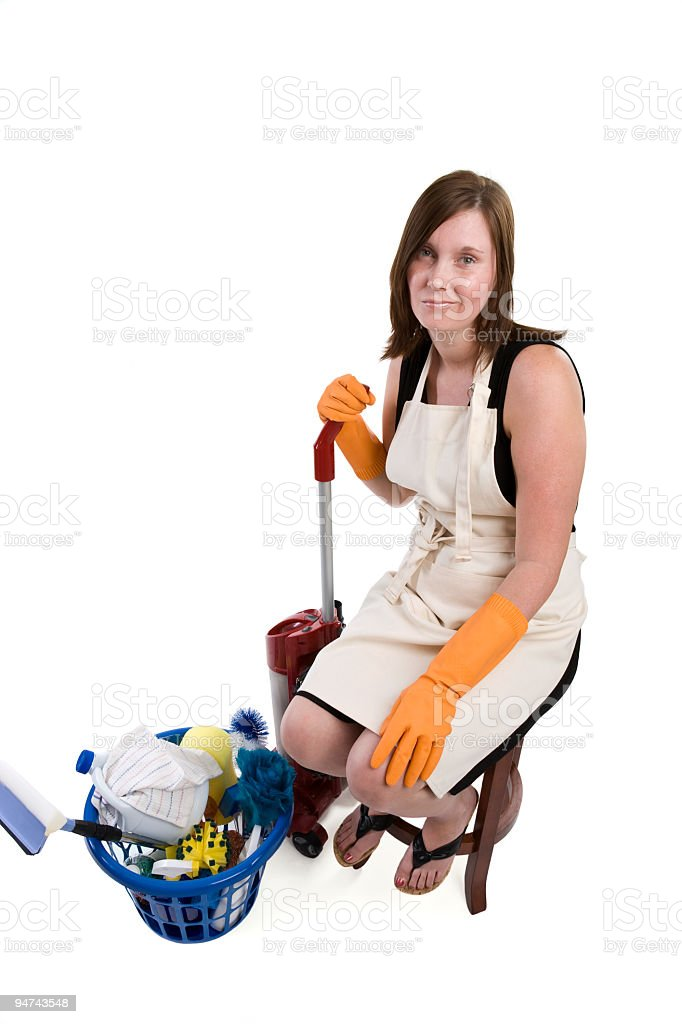 Chores are a Bummer royalty-free stock photo