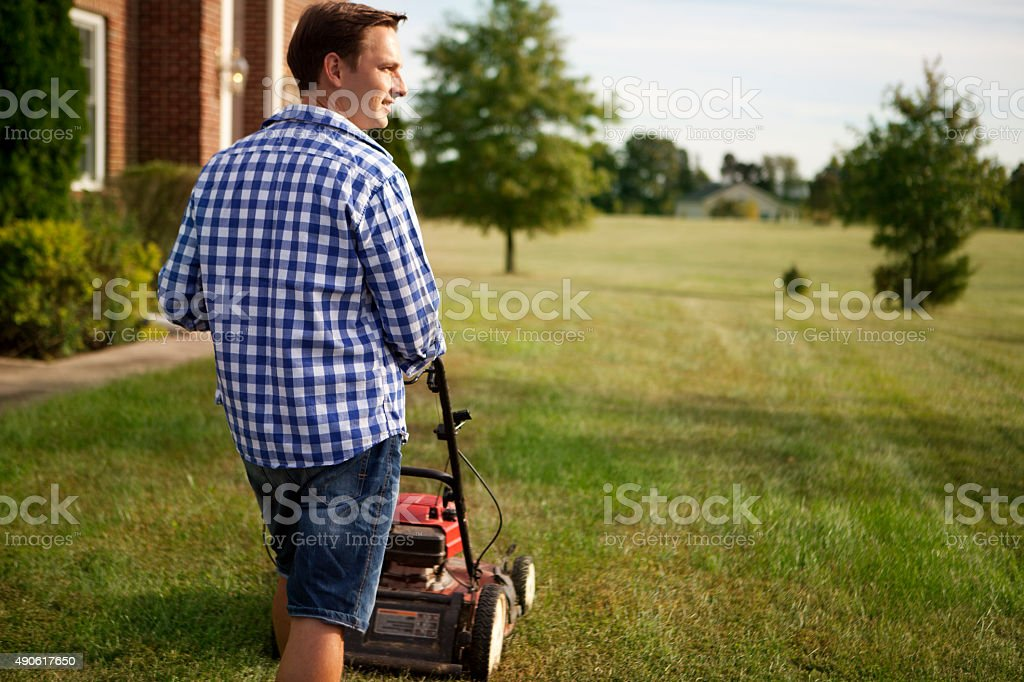 Chores around the house stock photo