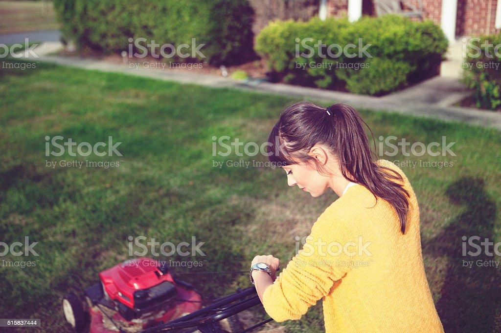 Chores around the house stock photo