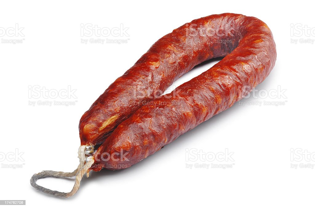Chorizo royalty-free stock photo