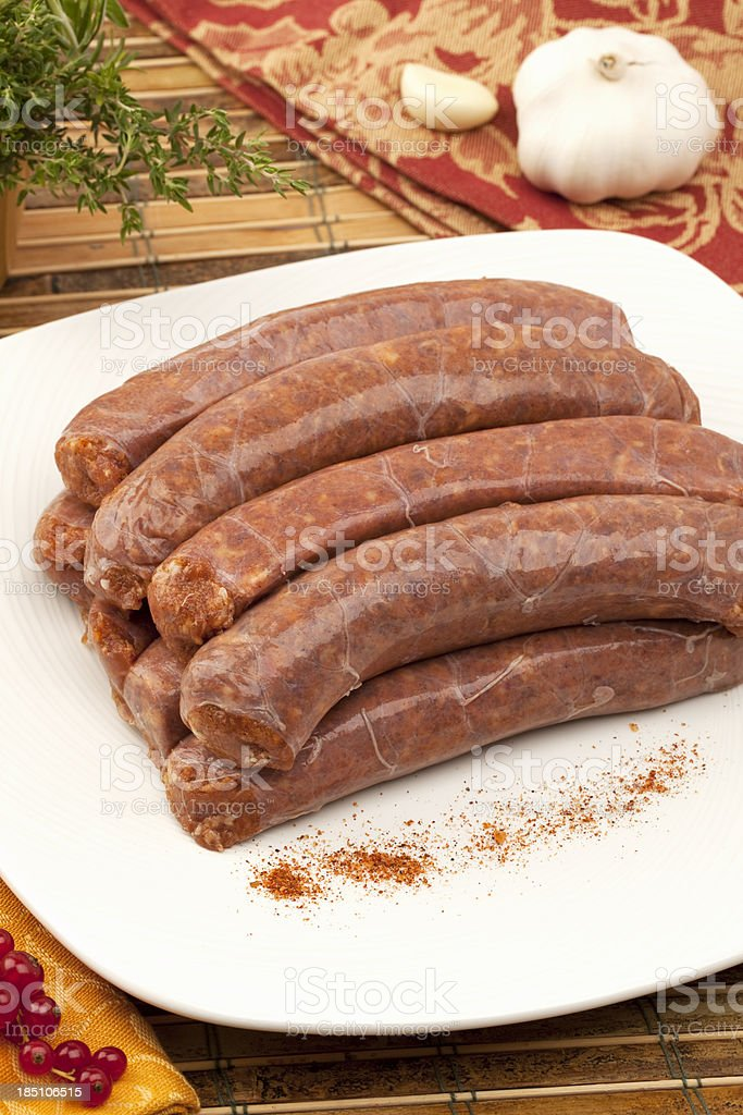 Chorizo royalty-free stock photo