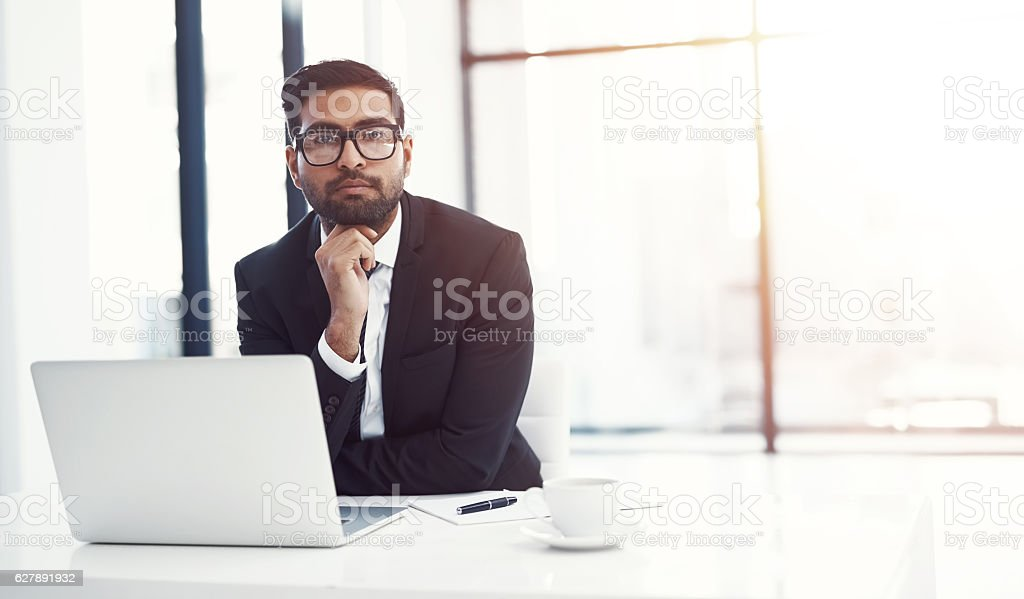 I chose a business where i can use my skills and talents stock photo