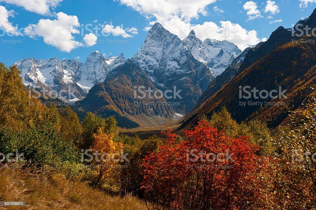 Chotcha mountain. stock photo