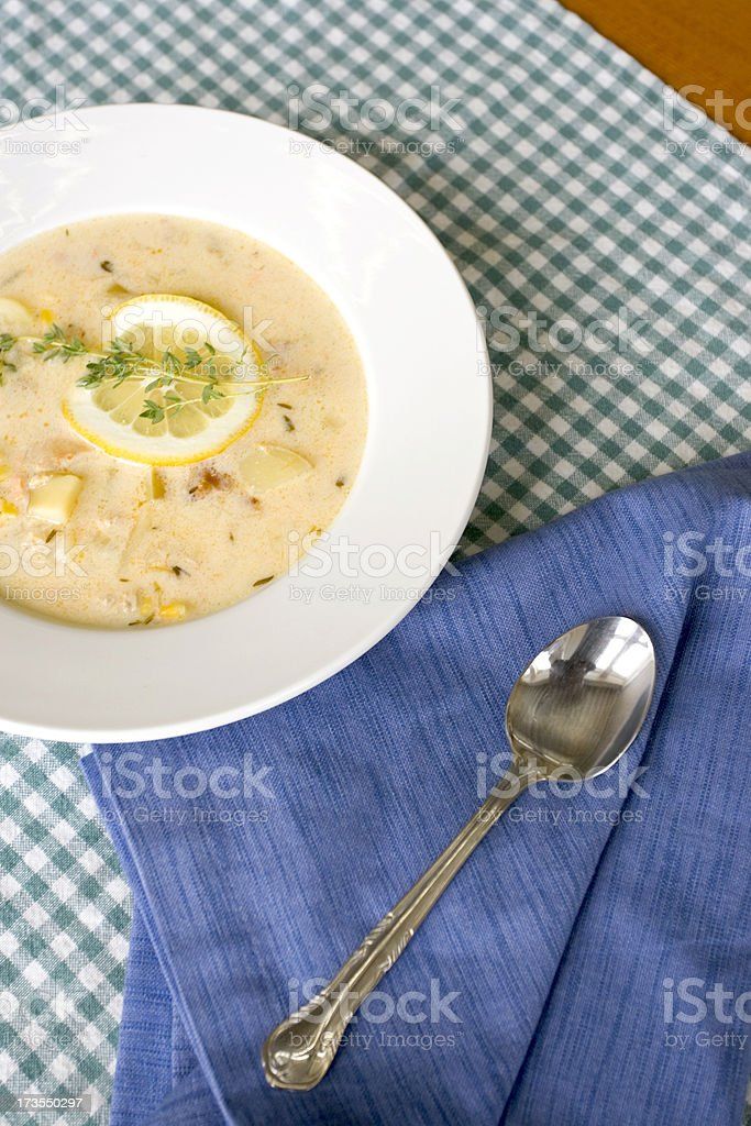 Chowder Time! (2) royalty-free stock photo
