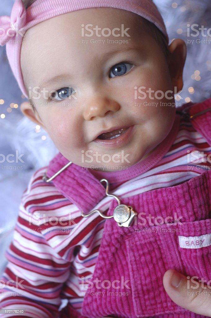 Chrismas Baby2 royalty-free stock photo