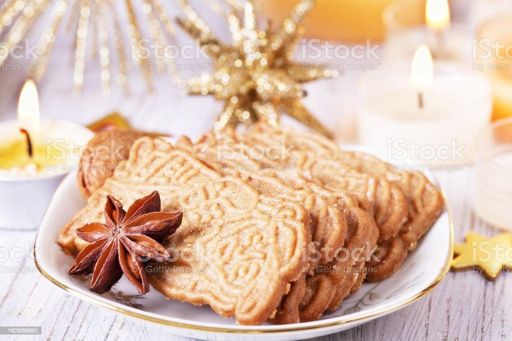 chrismas cookie stock photo