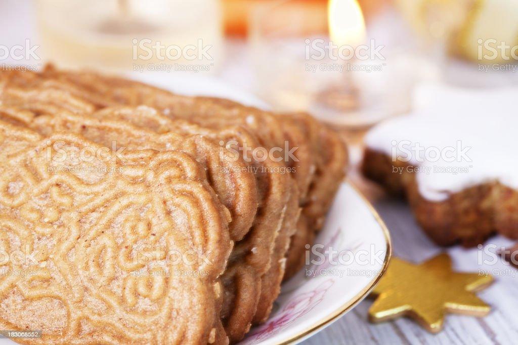 chrismas cookies stock photo