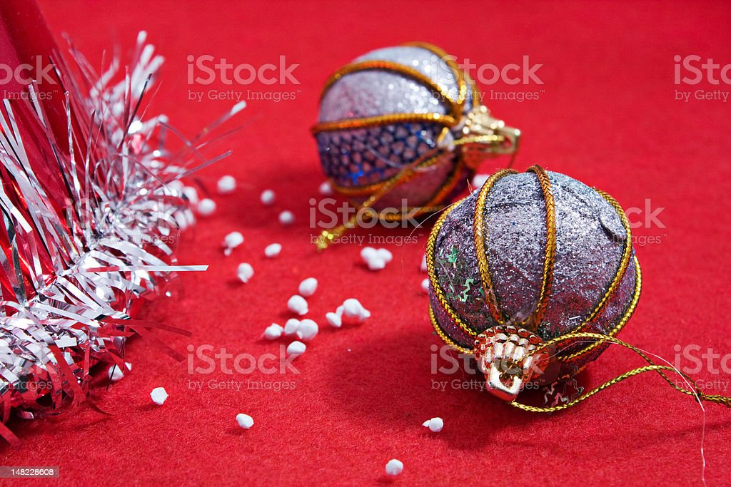 chrismas or new year tree decoration royalty-free stock photo
