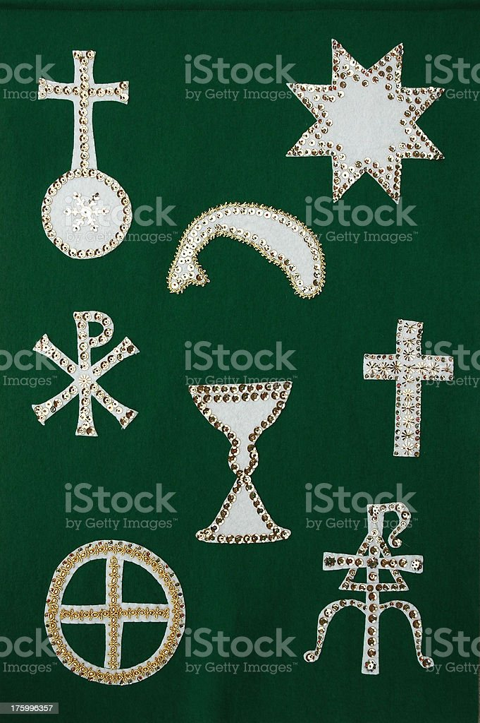 Chrismons royalty-free stock photo
