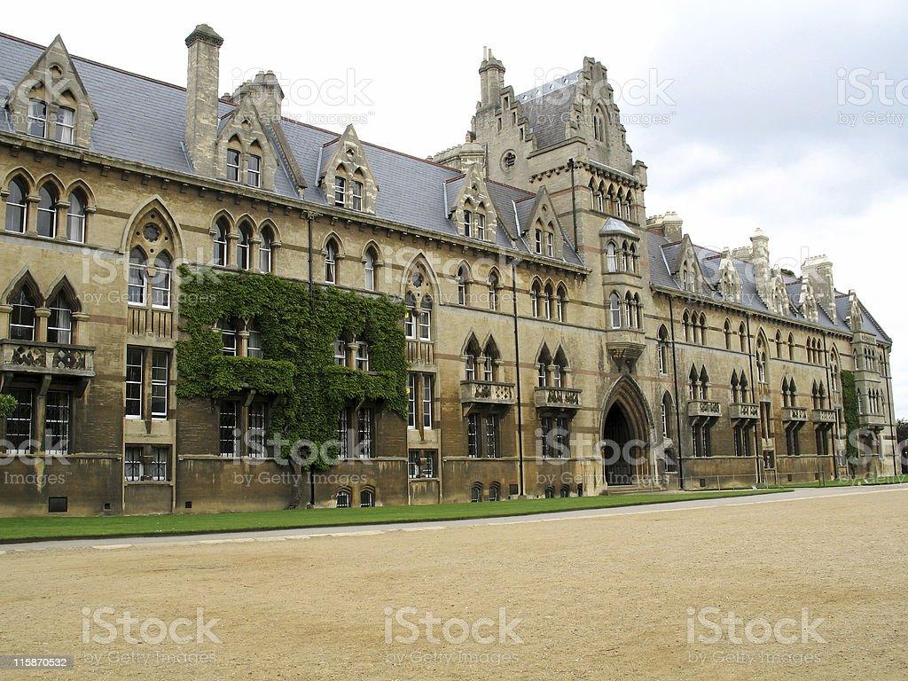 Christ Church at Oxford royalty-free stock photo