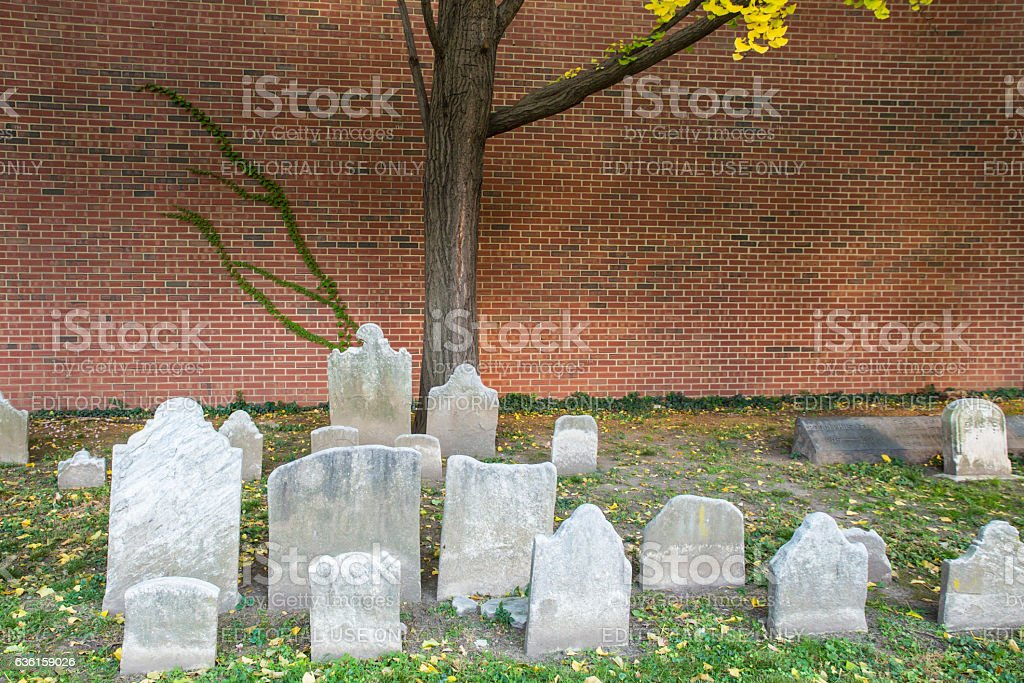 Christ Church Burial Ground stock photo
