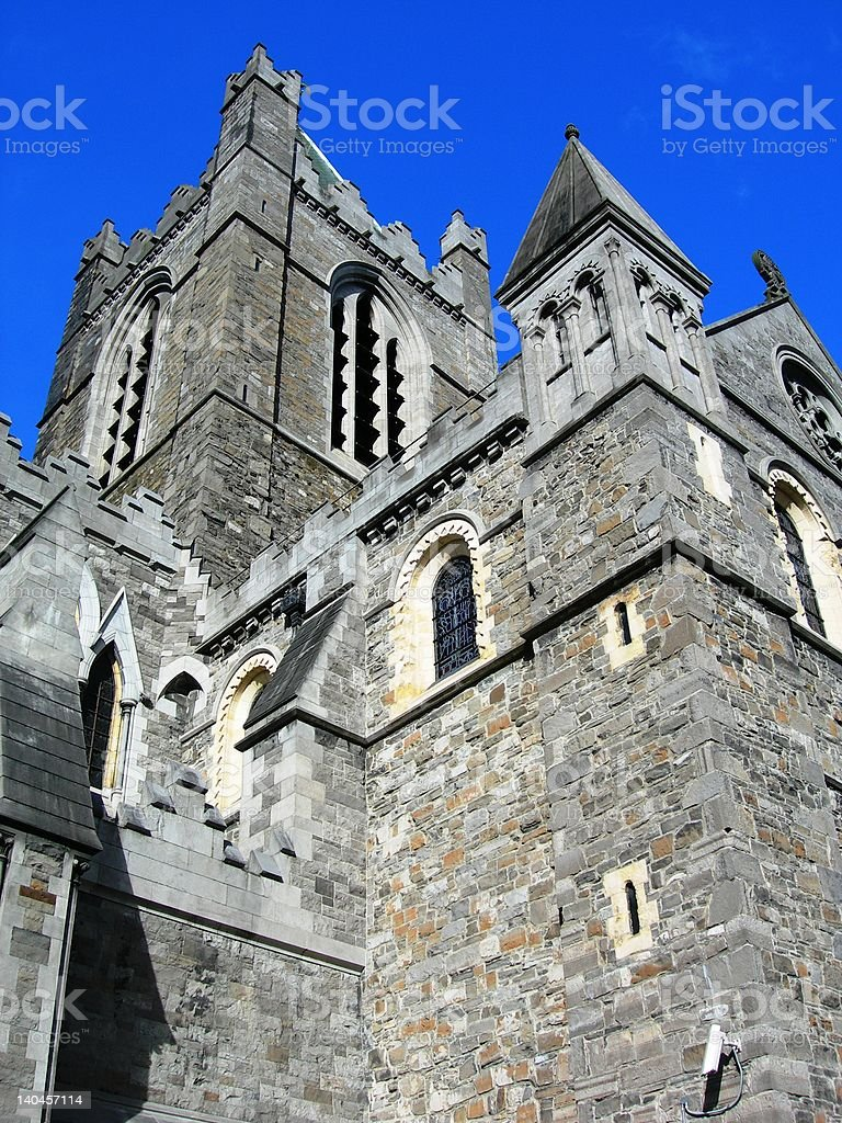 Christ Church Cathedral, Dublin, Ireland stock photo