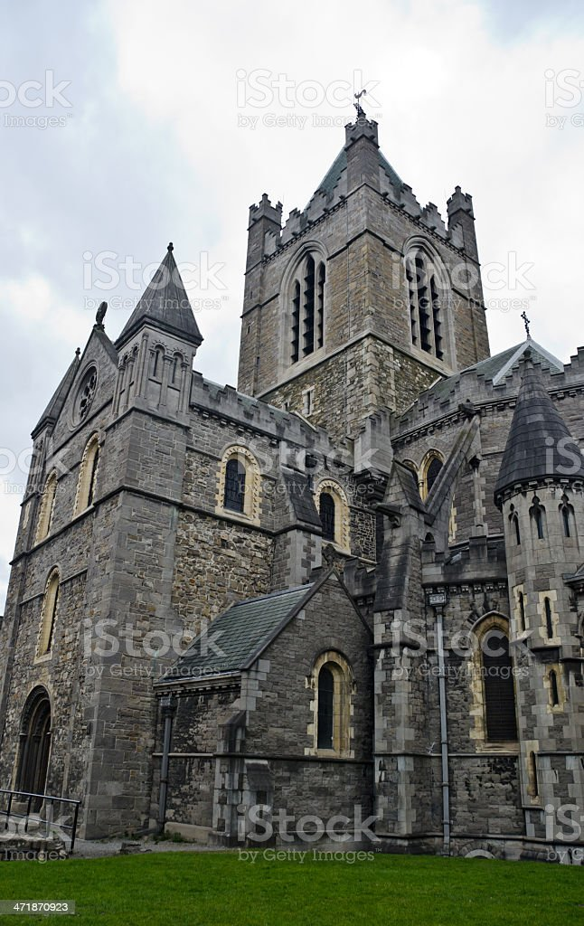 Christ church cathedral, Dublin, Ireland royalty-free stock photo