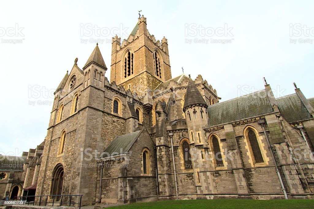 Christ Church Cathedral, Dublin, Ireland stock photo