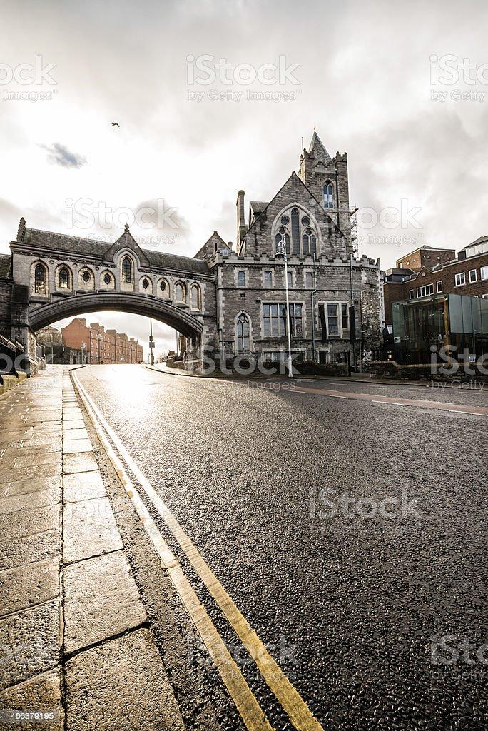 Christ Church Cathedral, Dublin stock photo