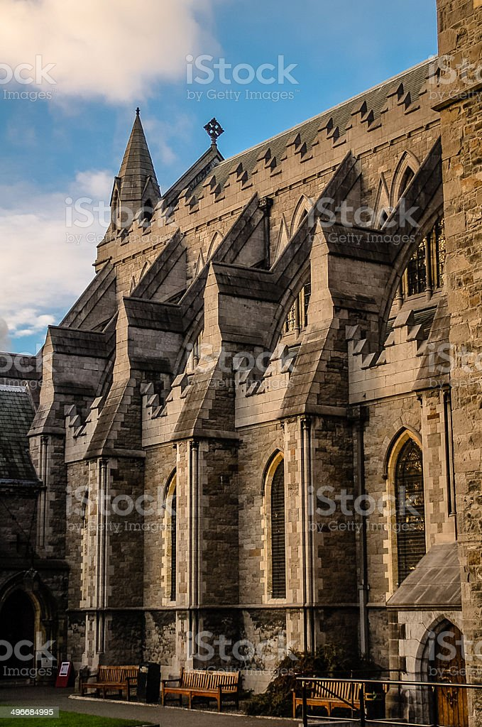 Christ Church Cathedral - Dublin stock photo