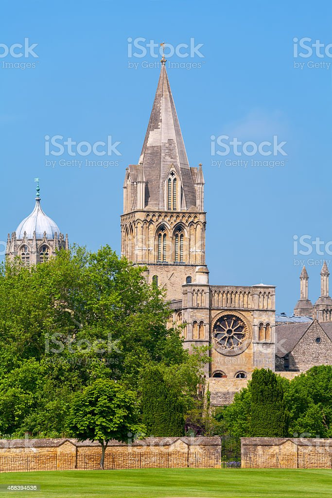 Christ Church Cathedral. Oxford, UK stock photo