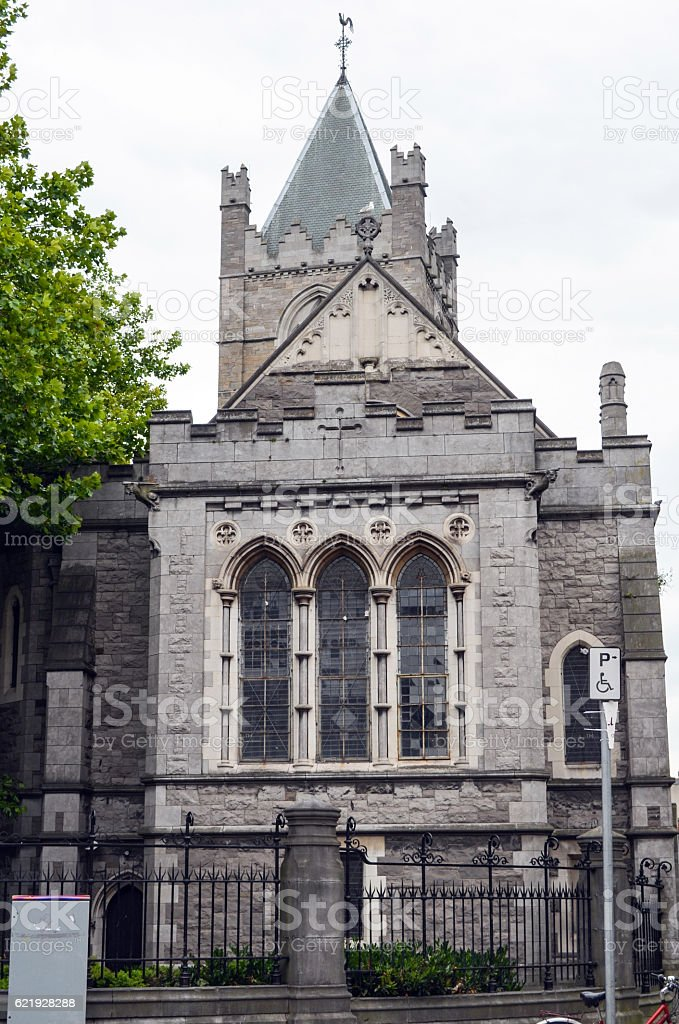 Christ Church Cathedral stock photo