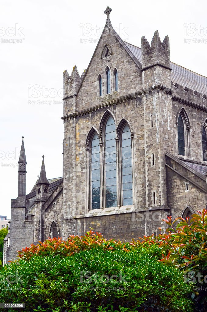 Christ Church Cathedral (vertical) stock photo