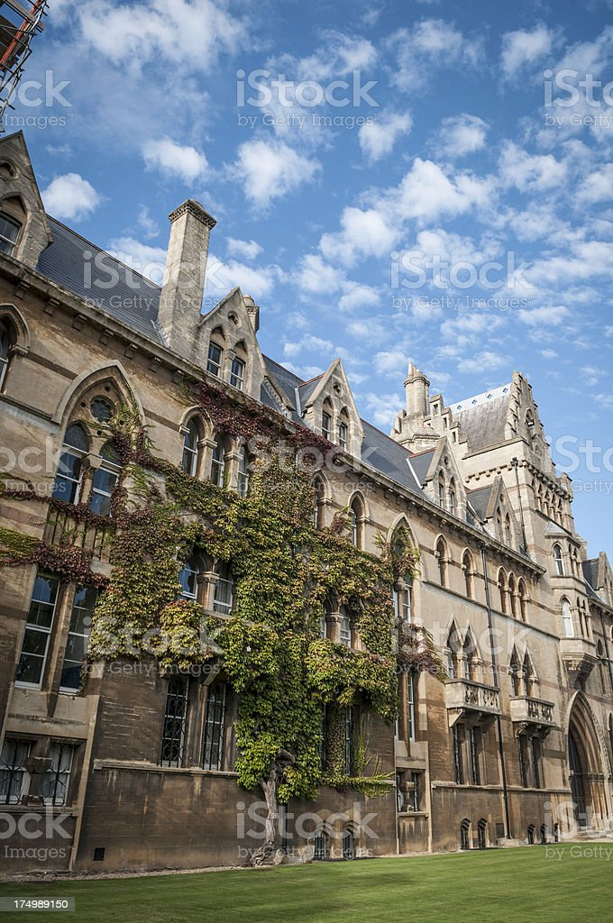Christ Church College, Meadows Building, Oxford, England royalty-free stock photo