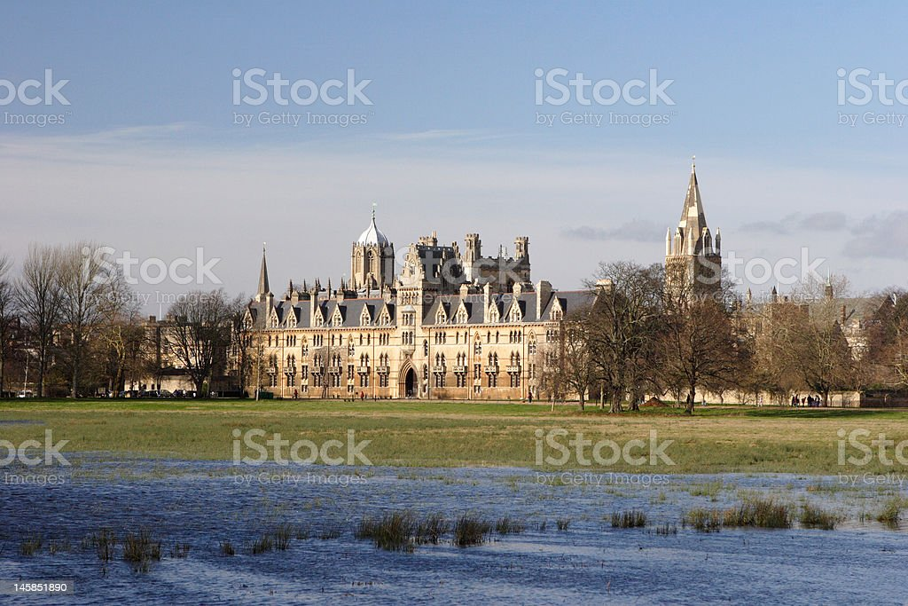 Christ Church College, Oxford, Great Britain stock photo