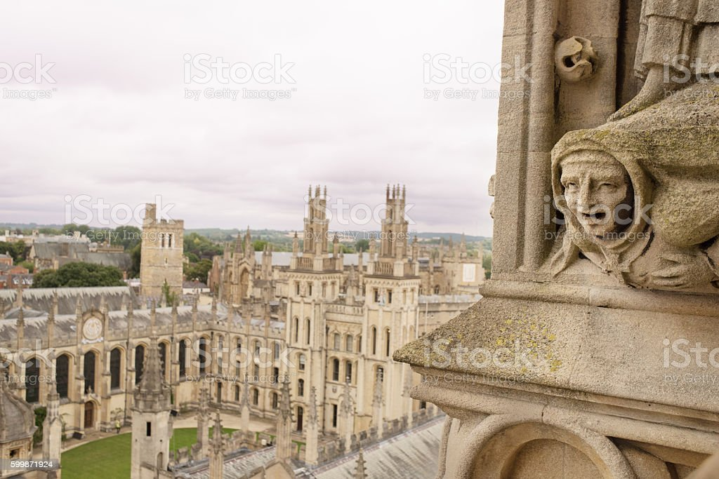 Christ Church College, Oxford UK stock photo