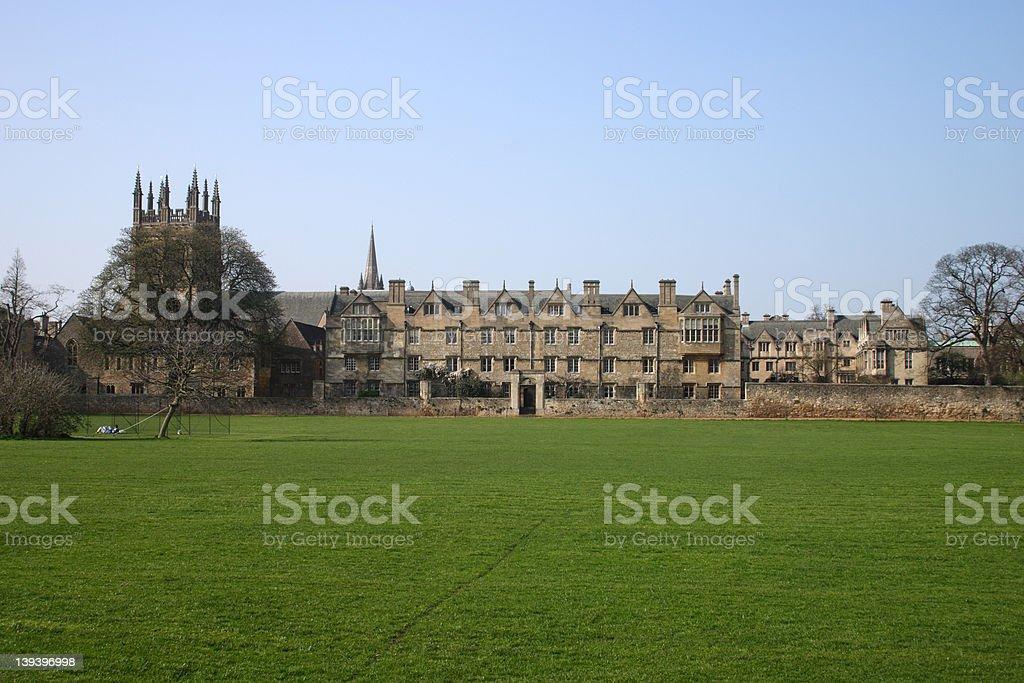 Christ Church College Oxford University stock photo