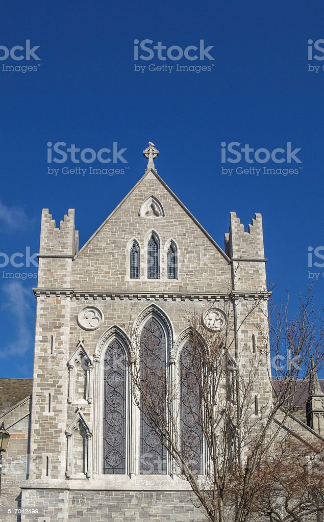 Christ Church Dublin stock photo
