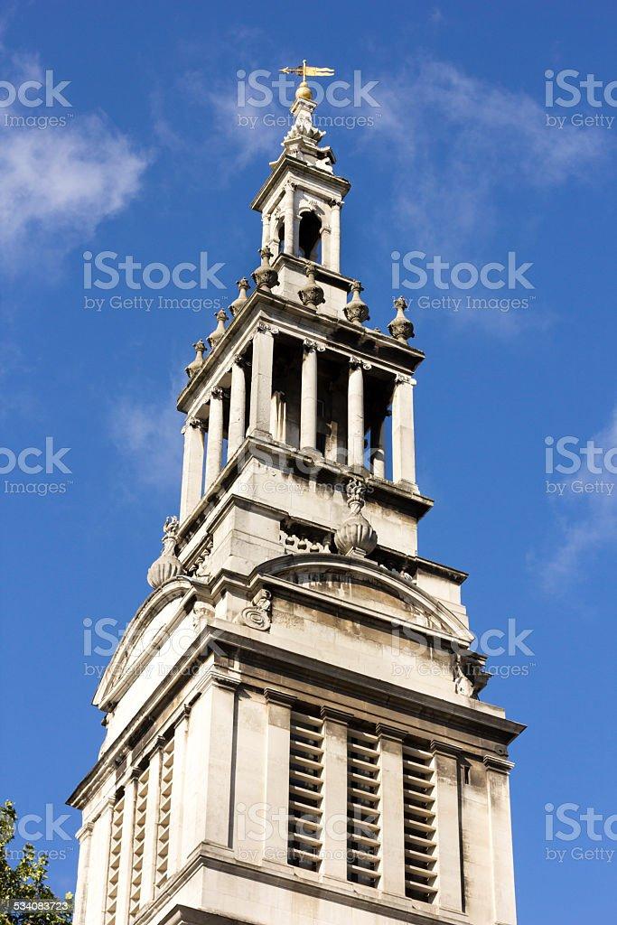 Christ Church Greyfriars in Newgate Street, London stock photo