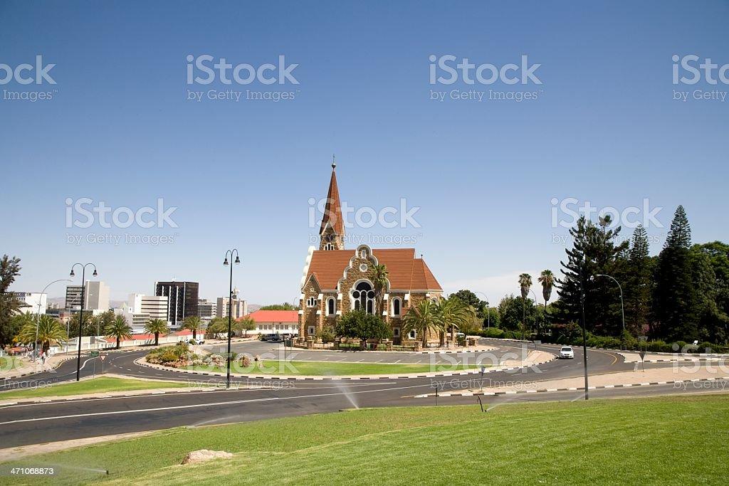 Christ Church Windhoek Namibia stock photo