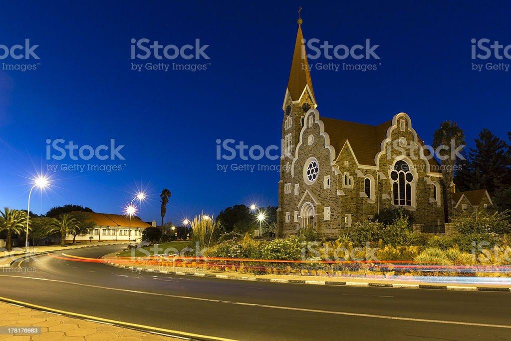 Christ Church, Windhoek stock photo